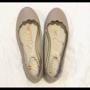 Sam Edelman Nude Finnegan Ballet Flats